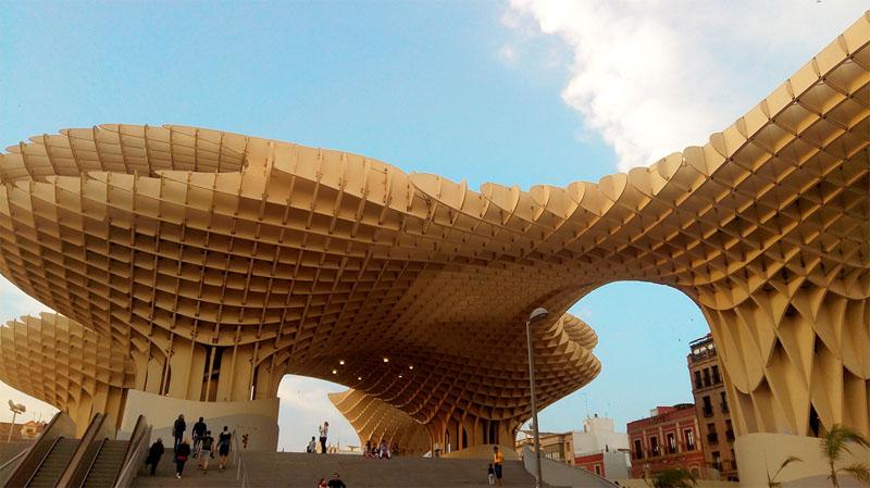 Struttura architettonica di Siviglia